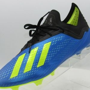 Adidas X 18.1 FG Size 12.5 Blue Amputees Left Mens